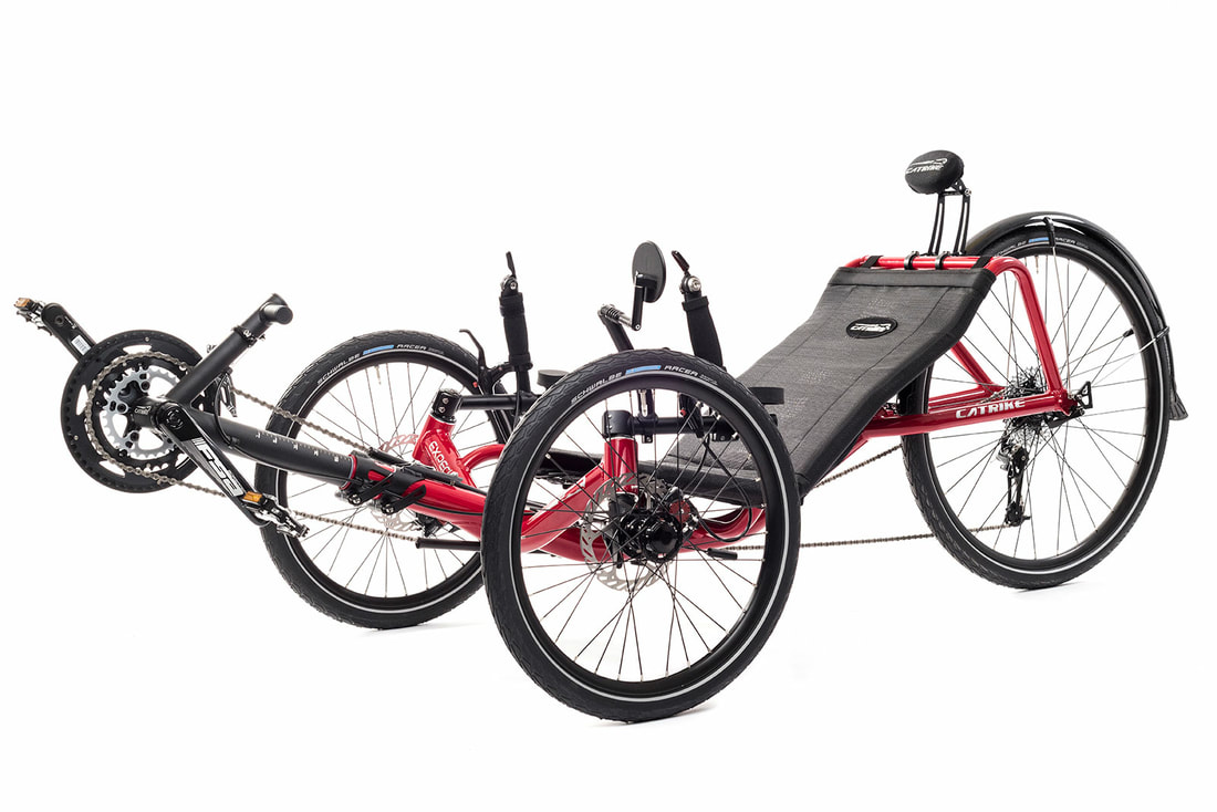 Catrike Expedition Recumbent Trike - RAD-Innovations