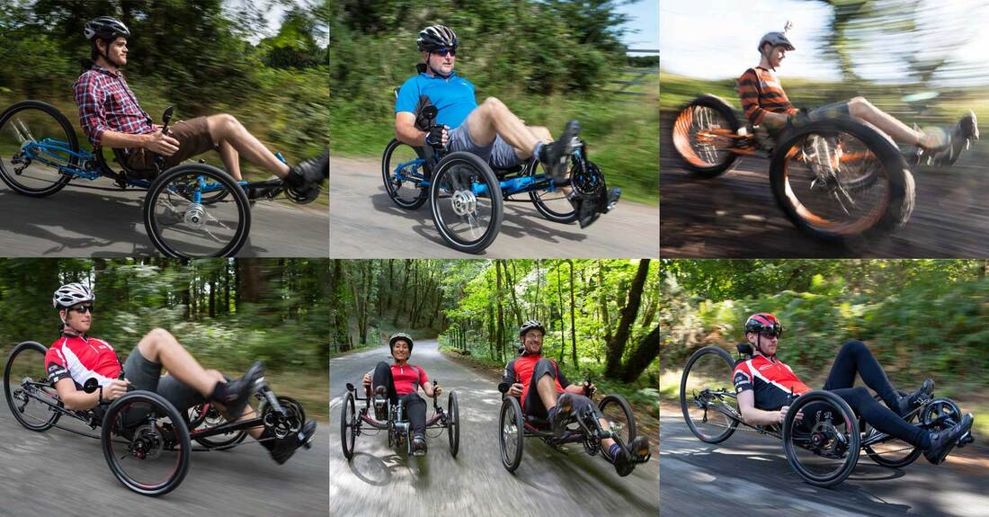 ICE recumbent trikes at RAD-Innovations