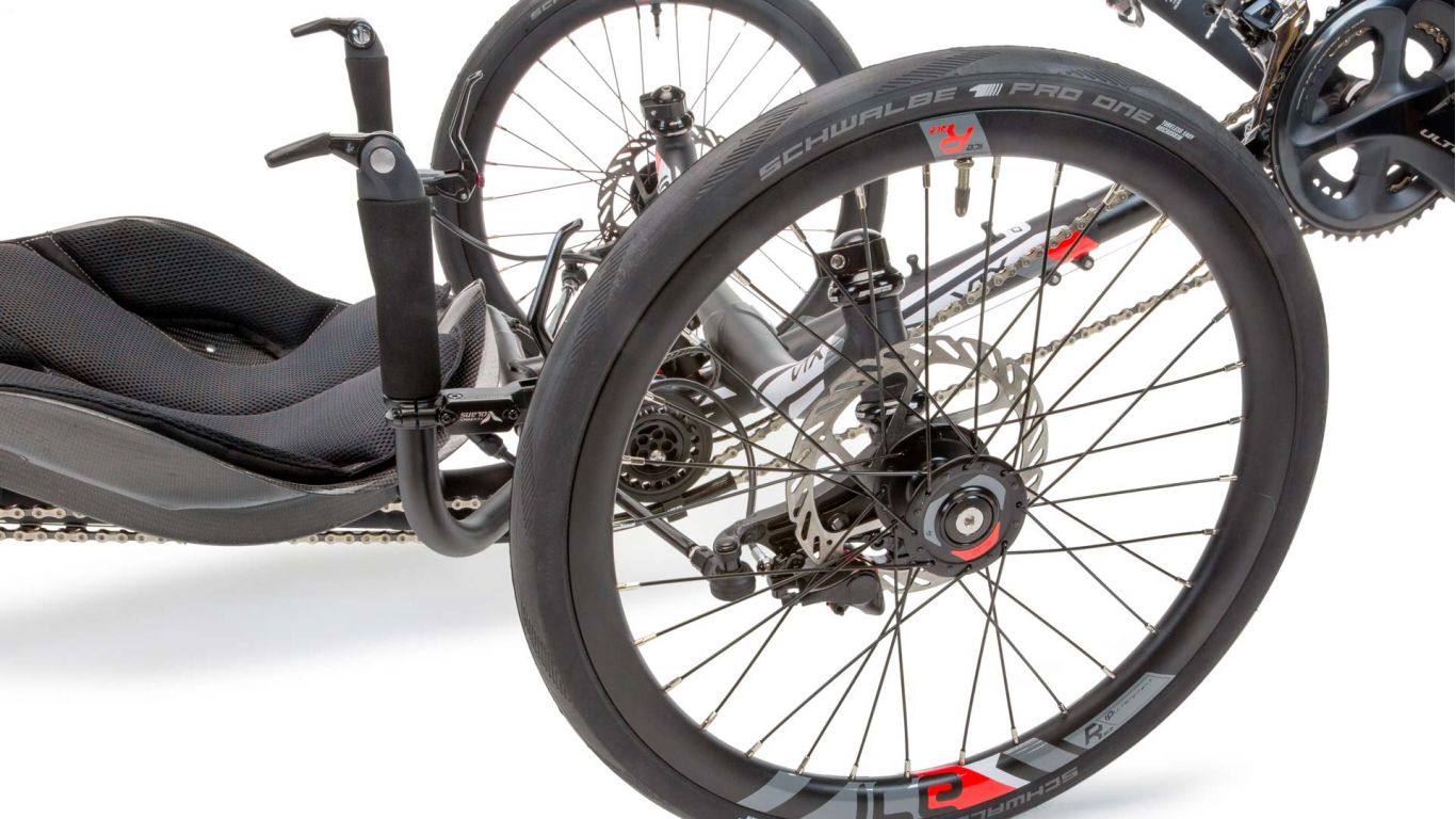ICE Sprint X recumbent trike natural handling