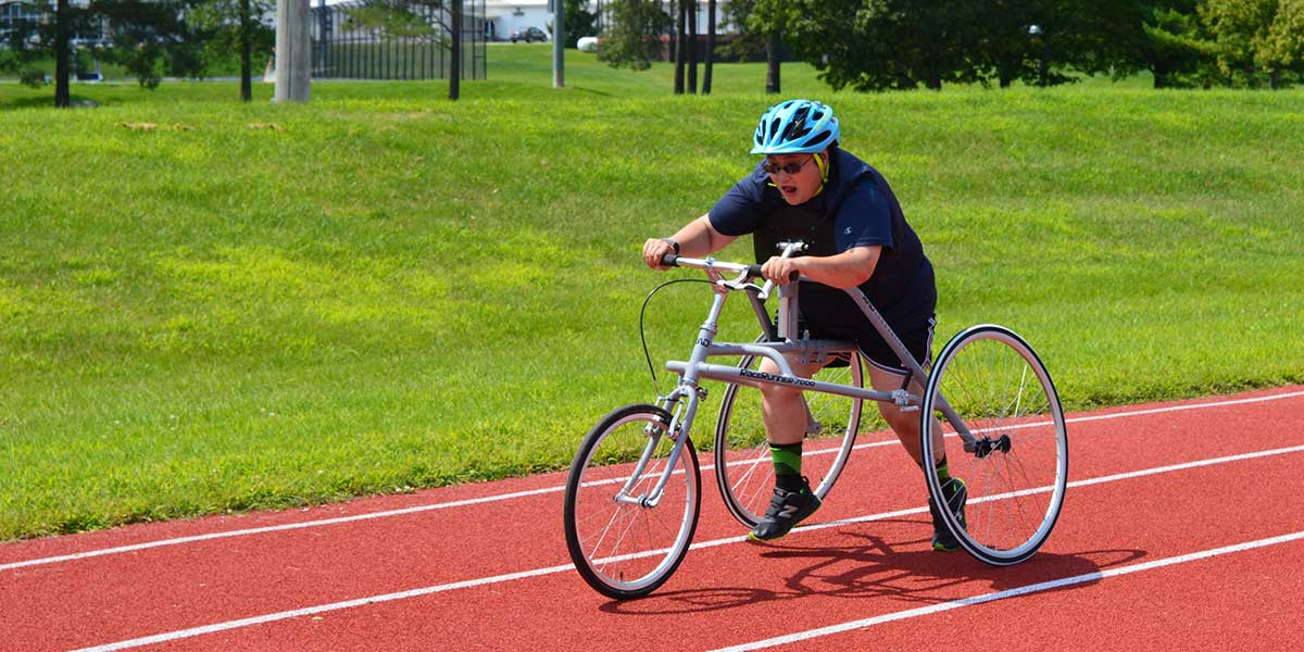Learn more about our recumbent trikes and adaptive bikes